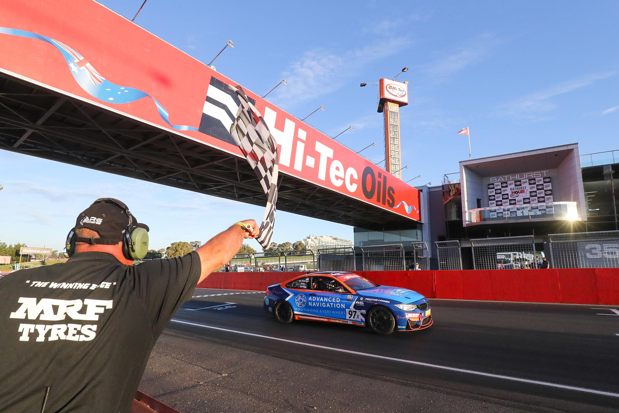 Shane van Gisbergen leads BMW team to Hi-Tec Oils Bathurst 6 Hour victory